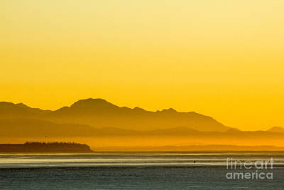 Digital Art - Whidbey Island Sunset by Georgianne Giese