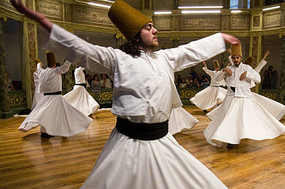 Photograph - Whirling Dervishes by For Ninety One Days