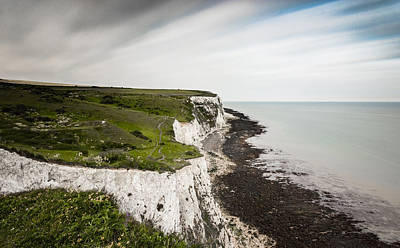 Kent Photograph - White Cliffs Of Dover by Ian Hufton