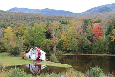 Photograph - White Mountains Indian Head Nh by Jeffrey Akerson
