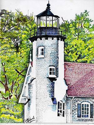 White River Station Art Print by Bill Richards