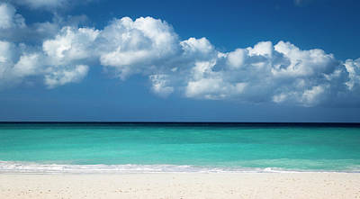 Aruba Photograph - White Sandy Beach At Eagle Beach by Brian Jannsen