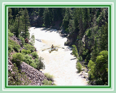 Photograph - Animas River White Water Rafting The  by Jack Pumphrey