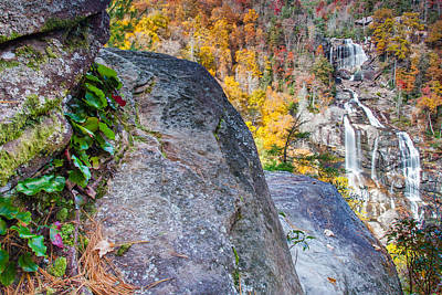 Photograph - Whitewater Falls by Rob Travis