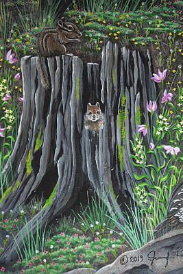 Painting - Who Me by Jennifer Lake