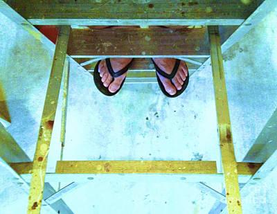 Art Print featuring the photograph Who's Feet by Paul Cammarata
