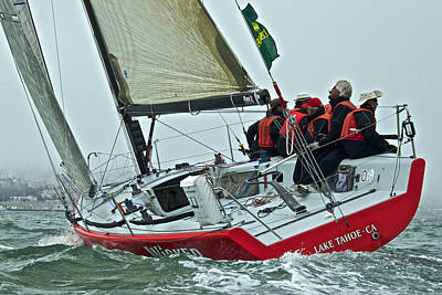 Photograph - Wicked On San Francisco Bay by Steven Lapkin