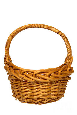 Photograph - Wicker Basket Number Eleven by Olivier Le Queinec