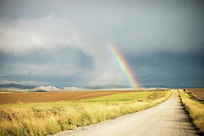 Farmscape Photograph - Wide Open Spaces by Ramona Murdock