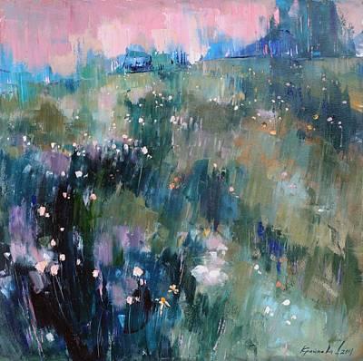 Painting - Wild Grasses  by Anastasija Kraineva