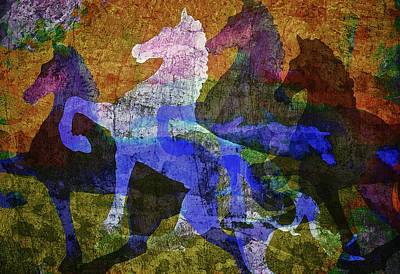 Painting - Wild Horses by Sandra Selle Rodriguez