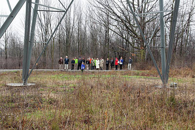 Wildlife Habitat Tour Of Corporate Land Print by Jim West
