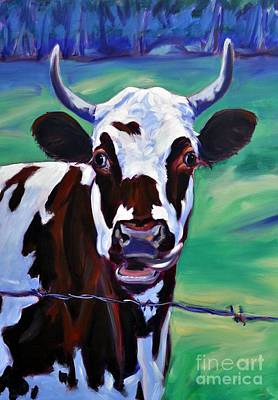One Horned Painting - Willa by Sylvina Rollins