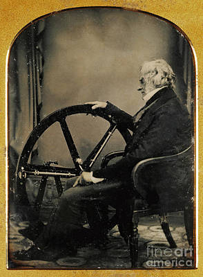 Photograph - William Constable With Regulator 1854 by Getty Research Institute