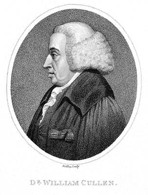Cullen Photograph - William Cullen (1710-1790) by Granger