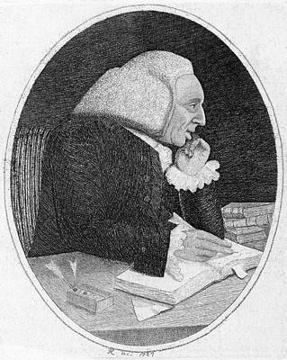 Cullen Wall Art - Drawing - William Cullen  Scottish Physician by Mary Evans Picture Library