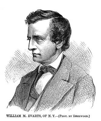 Democrat Painting - William Evarts (1818-1901) by Granger