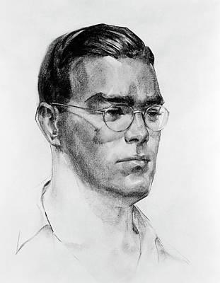 William Hansen Art Print by Aip Emilio Segre Visual Archives