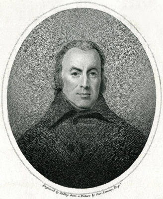 Caligraphy Drawing - William Hayley  English Poet by Mary Evans Picture Library