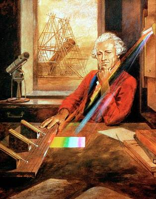 Infra-red Photograph - William Herschel by Universal History Archive/uig