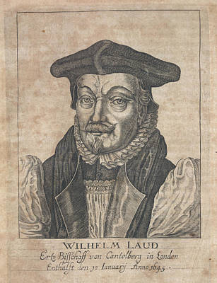 Clergy Photograph - William Laud by British Library