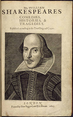 Actor Photograph - William Shakespeare by British Library