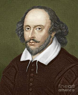 Stratford Photograph - William Shakespeare, English Playwright by Sheila Terry