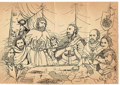 William Tell And Duke Leopold Original