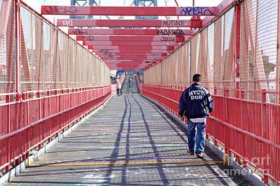 Sean Rights Managed Images - Williamsburg Bridge Scene Royalty-Free Image by Jannis Werner
