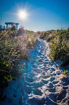 Photograph - Wilmington Coastal Scene Wilmington North Carolina by Alex Grichenko