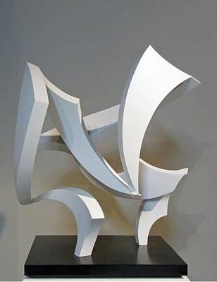 Sense Of Movement Sculpture - Wind by John Neumann