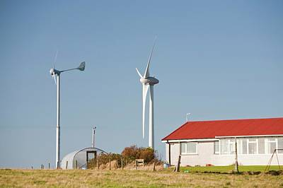 Grey Clouds Photograph - Wind Power by Ashley Cooper