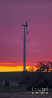 Photograph - Wind Power by Steven Ralser