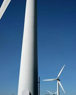 Wind Turbines Art Print by Robert Brook