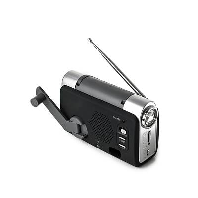 Common Item Photograph - Wind-up Radio And Torch by Science Photo Library