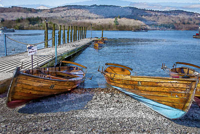 Photograph - Windemere by Alex Saunders