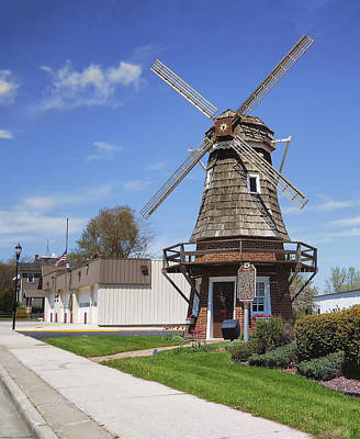 Photograph - Windmill by Tom Zachman