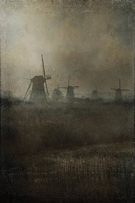 Old Mills Photograph - Windmills by Joana Kruse
