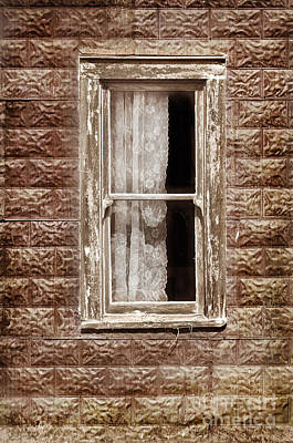 Photograph - Window In Old Building by Jill Battaglia