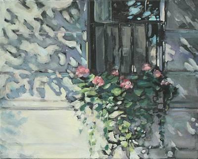 Window On Beacon Hill Art Print