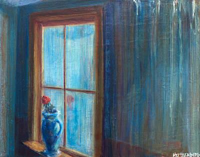 Still Life Painting - Window Pain by Josh Hertzenberg