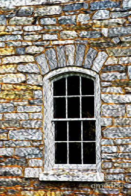 Photograph - Window by Paul W Faust -  Impressions of Light