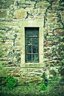 Old Houses Photograph - Window by Tom Gowanlock