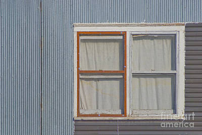 Frame House Photograph - Windows by Jim Wright