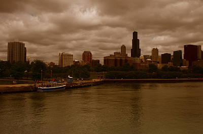 Photograph - Windy City by Miguel Winterpacht