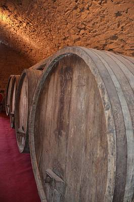 Photograph - Wine Barrels by Dany Lison