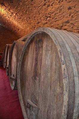 Railroad - Wine Barrels by Dany Lison