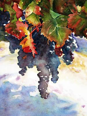 Wine Before It's Time Original by Richelle Siska