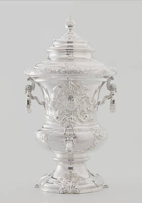 Wine Fountain And Cooler, Attributed To Alger Mensma Art Print