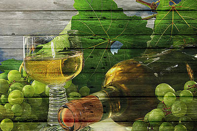 Of Liquor Photograph - Wine by Joe Hamilton